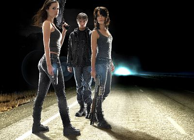 Summer Glau, Sarah Connor, Lena Headey, Terminator The Sarah Connor Chronicles, Cameron Phillips - desktop wallpaper