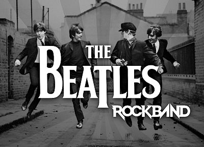 video games, music, The Beatles, Rock music, British, music bands, Rock Band - random desktop wallpaper