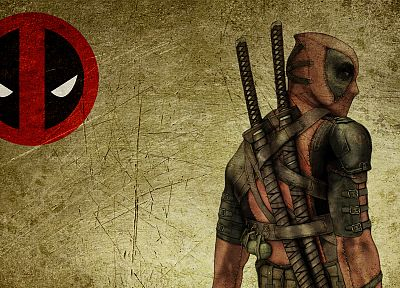 Deadpool Wade Wilson, Marvel Comics, swords - desktop wallpaper