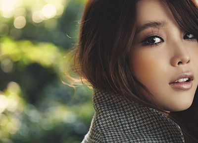 women, Asians, Korean, IU (singer), K-Pop, faces - random desktop wallpaper