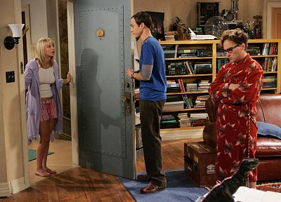 TV, The Big Bang Theory (TV), Kaley Cuoco, Jim Parsons, Sheldon Cooper, Leonard Hofstadter, Johnny Galecki - random desktop wallpaper