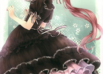 Gothic, gothic dress, anime girls - related desktop wallpaper