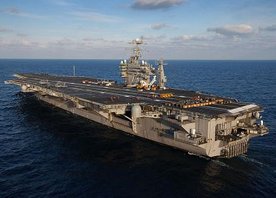 navy, aircraft carriers, USS George Washington - random desktop wallpaper