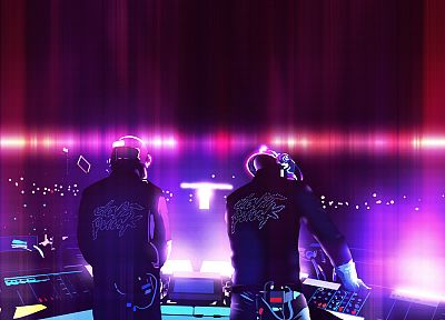 music, Daft Punk, music bands - random desktop wallpaper