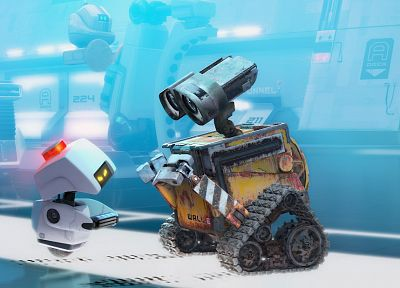 movies, Wall-E - random desktop wallpaper