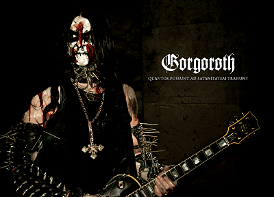 music, guitars, black metal, Gorgoroth - related desktop wallpaper