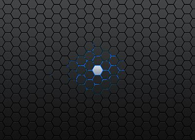Cell, hexagons, textures, honeycomb, simple background - desktop wallpaper