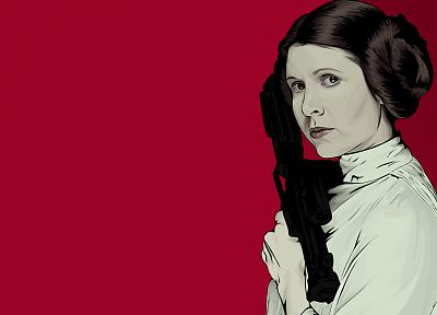 Star Wars, Leia Organa - desktop wallpaper