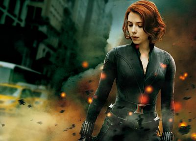 Scarlett Johansson, Black Widow, The Avengers (movie) - random desktop wallpaper
