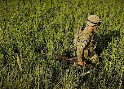 soldiers, army, military, US Army, m14, Multicam - related desktop wallpaper