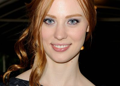 women, redheads, Deborah Ann Woll - related desktop wallpaper