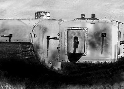 tanks, World War I, German, German Armed Forces - random desktop wallpaper