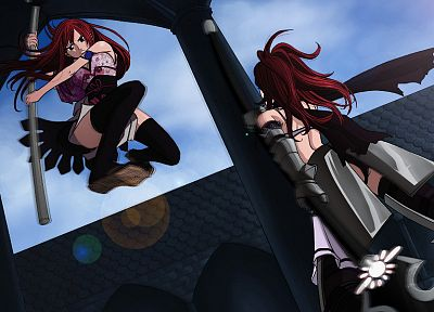 Fairy Tail, Scarlet Erza, Erza Knightwalker - related desktop wallpaper