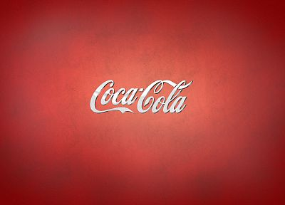 Coca-Cola, red background - random desktop wallpaper