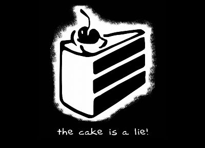 Portal, the cake is a lie, games, Steam (software) - random desktop wallpaper