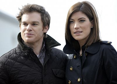 Jennifer Carpenter, Michael C. Hall - random desktop wallpaper