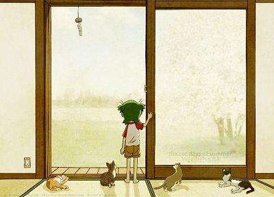 cats, Yotsuba, Yotsubato - related desktop wallpaper