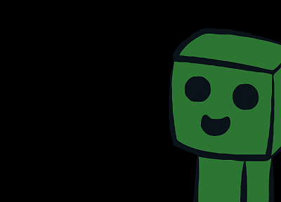 creeper, Minecraft - related desktop wallpaper