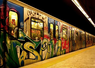 subway, street art - related desktop wallpaper