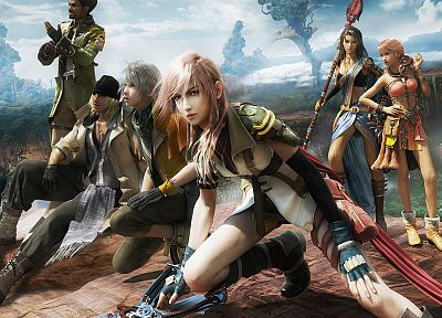 Final Fantasy XIII, Oerba Dia Vanille, Claire Farron - related desktop wallpaper