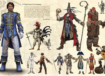 video games, artwork, Fable 3 - related desktop wallpaper