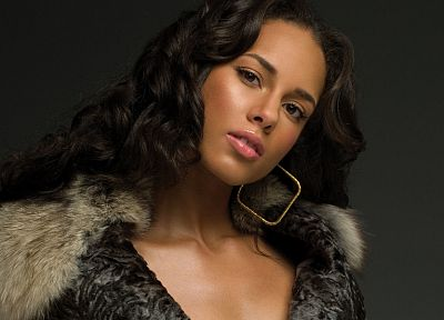 women, black people, Alicia Keys - random desktop wallpaper