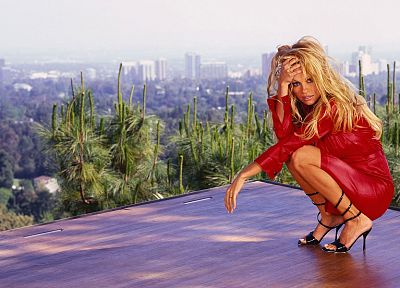 women, models, celebrity, Pamela Anderson - desktop wallpaper
