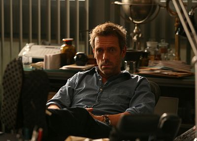 Hugh Laurie, Gregory House, House M.D. - related desktop wallpaper