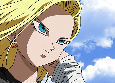 Android, Dragon Ball Z, anime girls, Android 18 - related desktop wallpaper