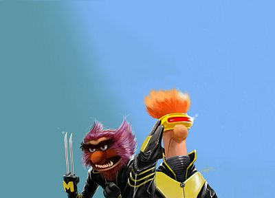 X-Men, Beaker, The Muppet Show - related desktop wallpaper