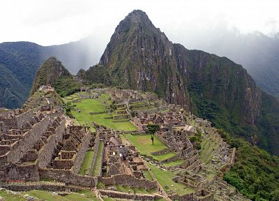 ruins, ancient, Machu Picchu - random desktop wallpaper