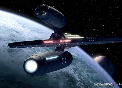 Star Trek, USS Kelvin - random desktop wallpaper