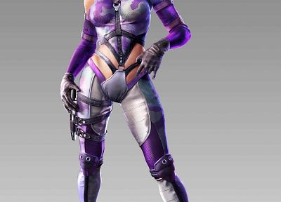 blondes, women, video games, Tekken, Nina Williams - desktop wallpaper