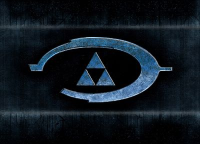video games, Halo, triforce - related desktop wallpaper