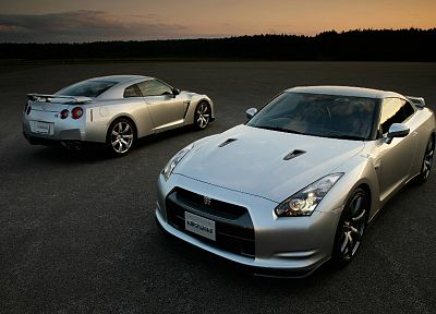 cars, Nissan, vehicles, Nissan Skyline GT-R, Nissan GT-R R35 - related desktop wallpaper