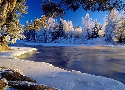 landscapes, nature, winter, snow - related desktop wallpaper