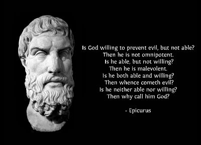quotes, Epicurus, men, God, philosophy - random desktop wallpaper