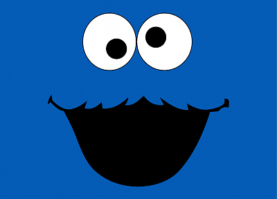 TV, Cookie Monster, Sesame Street - desktop wallpaper