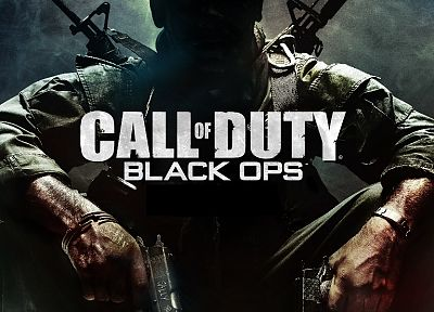 video games, guns, Call of Duty, Call of Duty: Black Ops - desktop wallpaper
