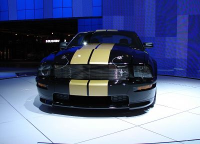 cars, muscle cars, vehicles, Ford Mustang, Shelby Mustang, black cars, Shelby GT500 - desktop wallpaper