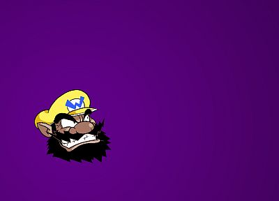 Mario, Wario - random desktop wallpaper