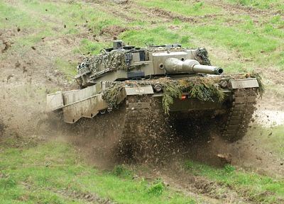 tanks, battles, Leopard 2, Austrian Armed Forces - random desktop wallpaper