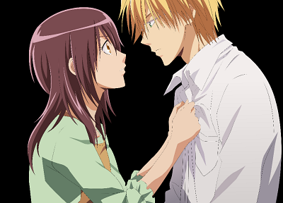 transparent, Misaki Ayuzawa, Kaichou wa Maid-sama!, Usui Takumi, anime vectors - related desktop wallpaper