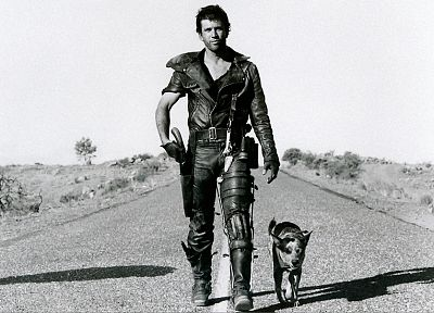 dogs, Mad Max, grayscale, Mel Gibson - related desktop wallpaper
