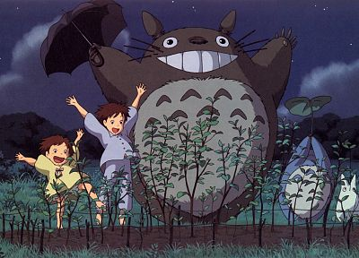 movies, My Neighbour Totoro, Studio Ghibli, anime - desktop wallpaper