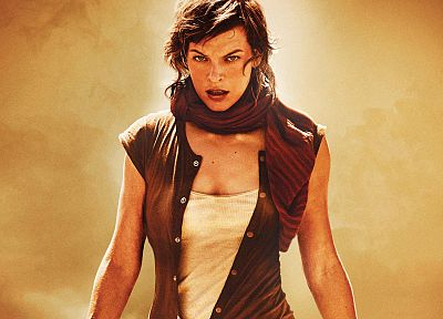 women, movies, actress, Resident Evil, Milla Jovovich - related desktop wallpaper