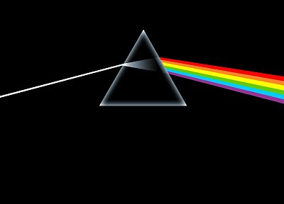 Pink Floyd, prism, rainbows, The Dark Side Of The Moon - desktop wallpaper