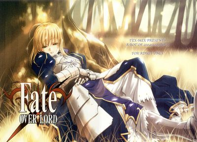 Fate/Stay Night, Type-Moon, Saber, Fate series - desktop wallpaper
