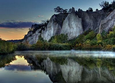 mountains, landscapes, nature, HDR photography, rivers, reflections - random desktop wallpaper