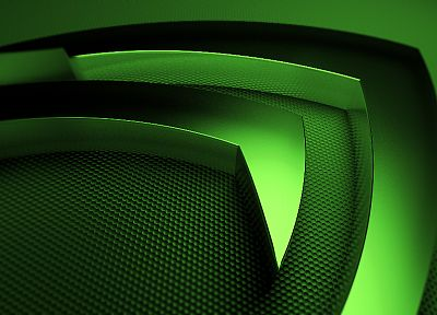 green, Nvidia, technology - desktop wallpaper